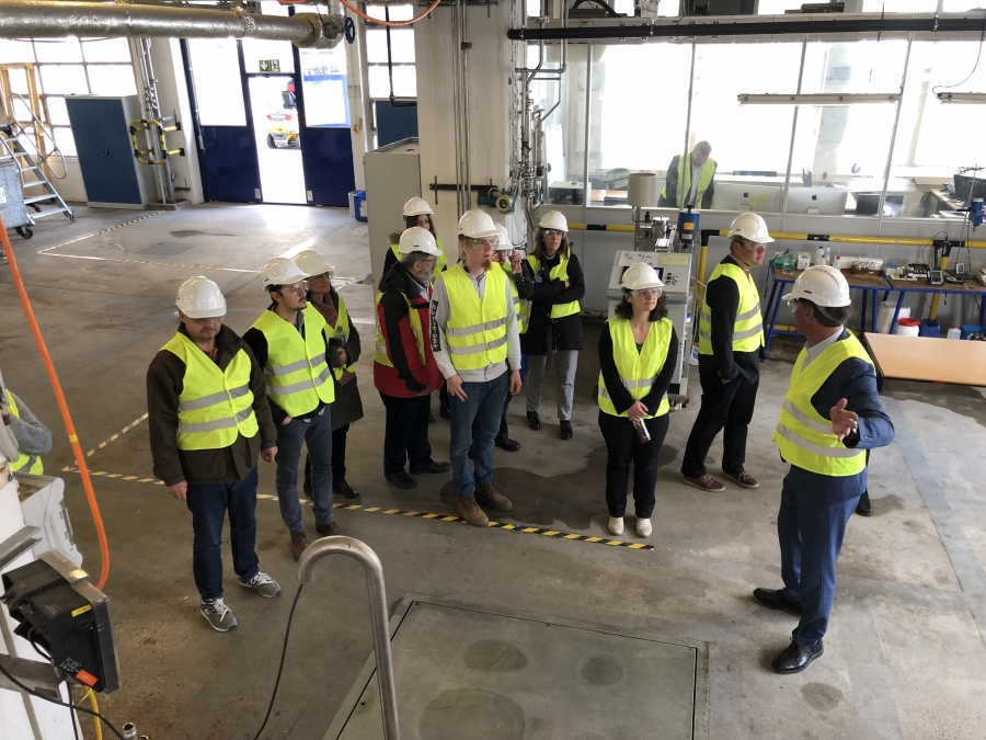 The group visits AVA Biochem plant for hydrothermal conversion of C6 sugars into HMF